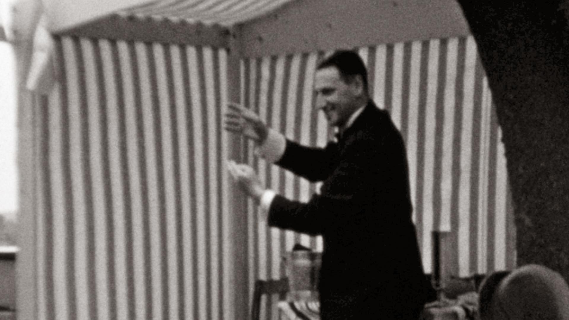 Ben Ali Libi goochelend 1937